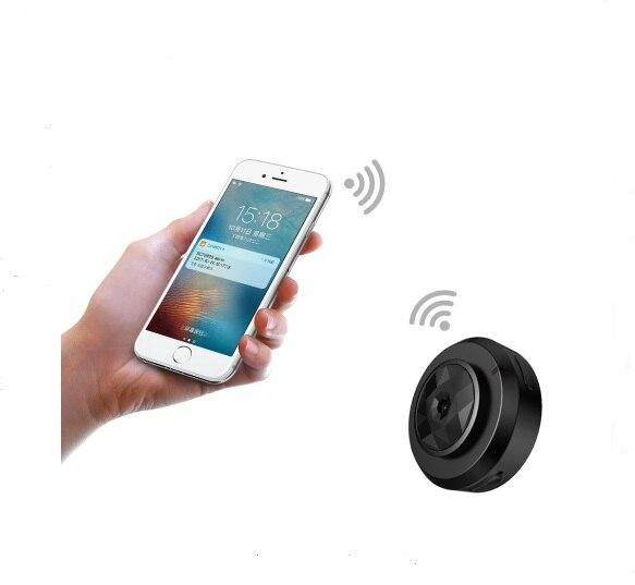 VRFEL Mini Camera C6 Multi-purpose Recording Video WiFi Wireless IP Control and Motion Detection HD 720P Resolution ...