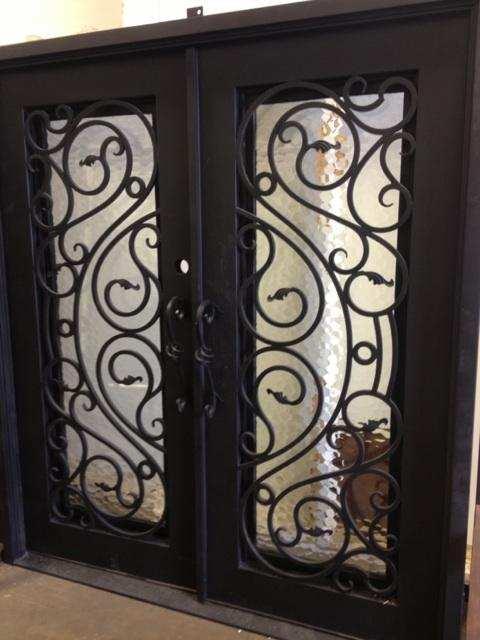 Custom Design Iron Doorsteel Door Single Iron Door2 In
