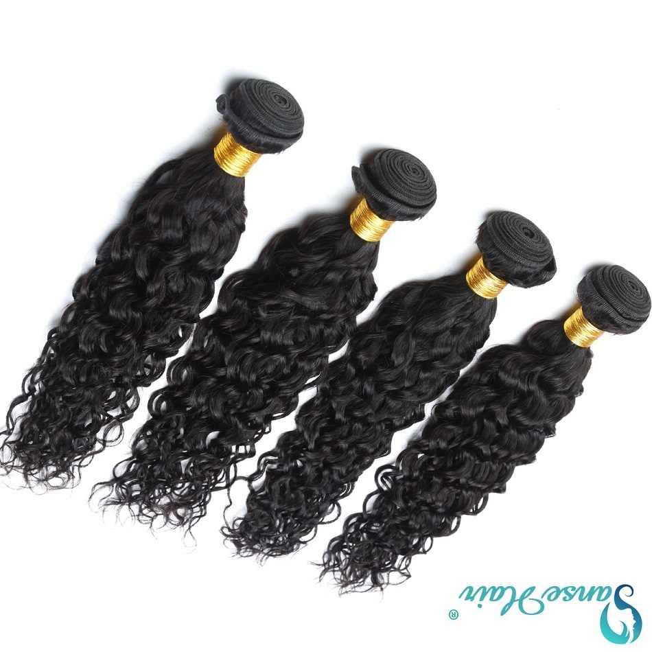 Panse волосы волнистые пучки бразильские волосы плетение пучки 4 пучка предложения человеческие волосы не Remy Индивидуальные 8 до 30 дюймов