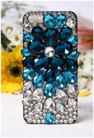 Dower Me Mode Bling Crystal Diamond Mooie Zon Bloem Case Voor Samsung Galaxy S8/7/6 Rand Plus Note 5 4 3 2 S5/4/3 A5/7/8