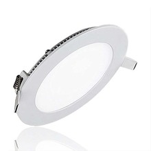 Ultra Thin LED Panel Light 3W 4W 6W 9W 12W 15W 25W Driver Included AC85-265V Recessed Ceiling Lamps for indoor Lighting