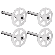 4pcs Gearset Spare Parts Accessories for MJX X400 RC Quadcopter RC Helicopters Gears