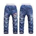 Crianças calças jeans meninos calças 3 4 5 2016 primavera e verão 6 2 - 7 anos de alta qualidade
