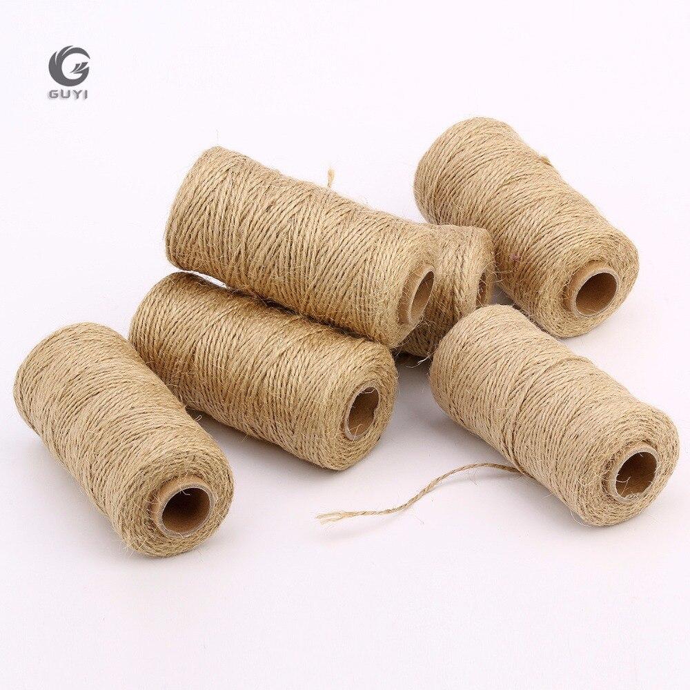 1e4513ea00dd 4mm x 110 m cuerda de macramé Natural Beige suave de algodón trenzado  artesanal cuerda artesanal