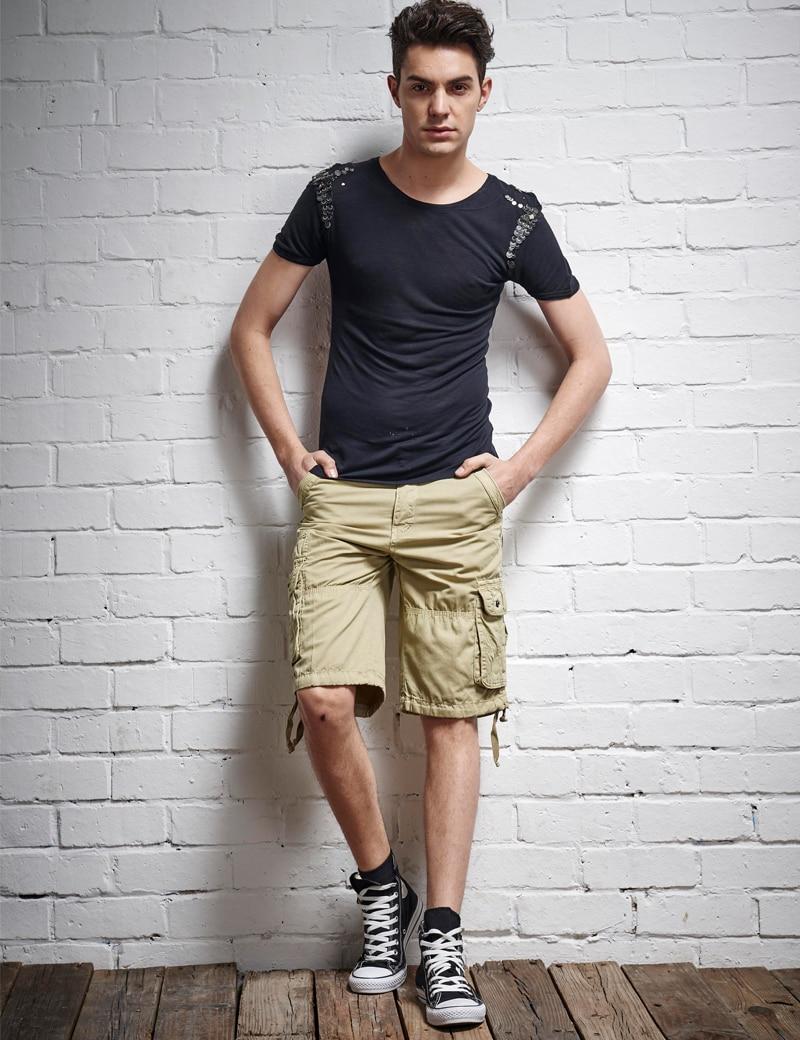 Khaki shorts outfit men the else for Mens khaki shirt outfit