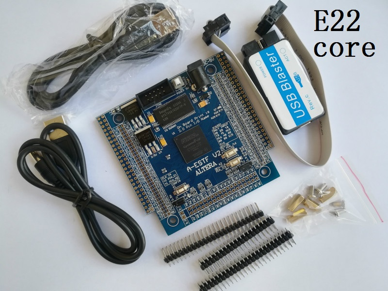 cyclone iv board E22 core board altera fpga board altera board fpga development board EP4CE22f17C8N electronic system design fpga development board stm32f103vct6 development board high speed ad da comparator