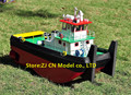 Scale 1/35  RC towboat wooden model kit The Springer push tugboat model Include Code 540 Dynamo