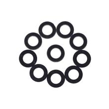 Hot Sale 10pcs Pack Genuine Gaskets For TOYOTA LEXUS Oil Drain Plug Gaskets 90430 12031 Black
