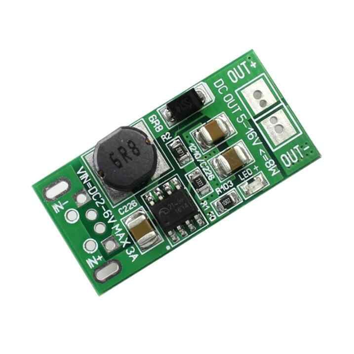 12V USB Board to DC Low Voltage High Power Boost Regulator Module 8W 5V