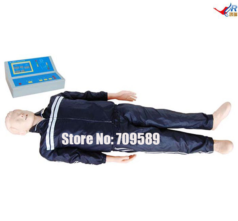 Whole Body Basic CPR Manikin Style 200 (Male / Female), Nursing Manikin economic basic patient care manikin female nursing manikin nursing mannequin