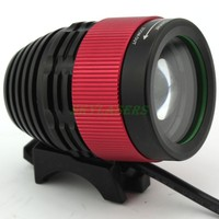 Zoomable CREE XM L T6 LED Bike Light Bicycle Front Lamp Headlight Headlamp For Hunting 8