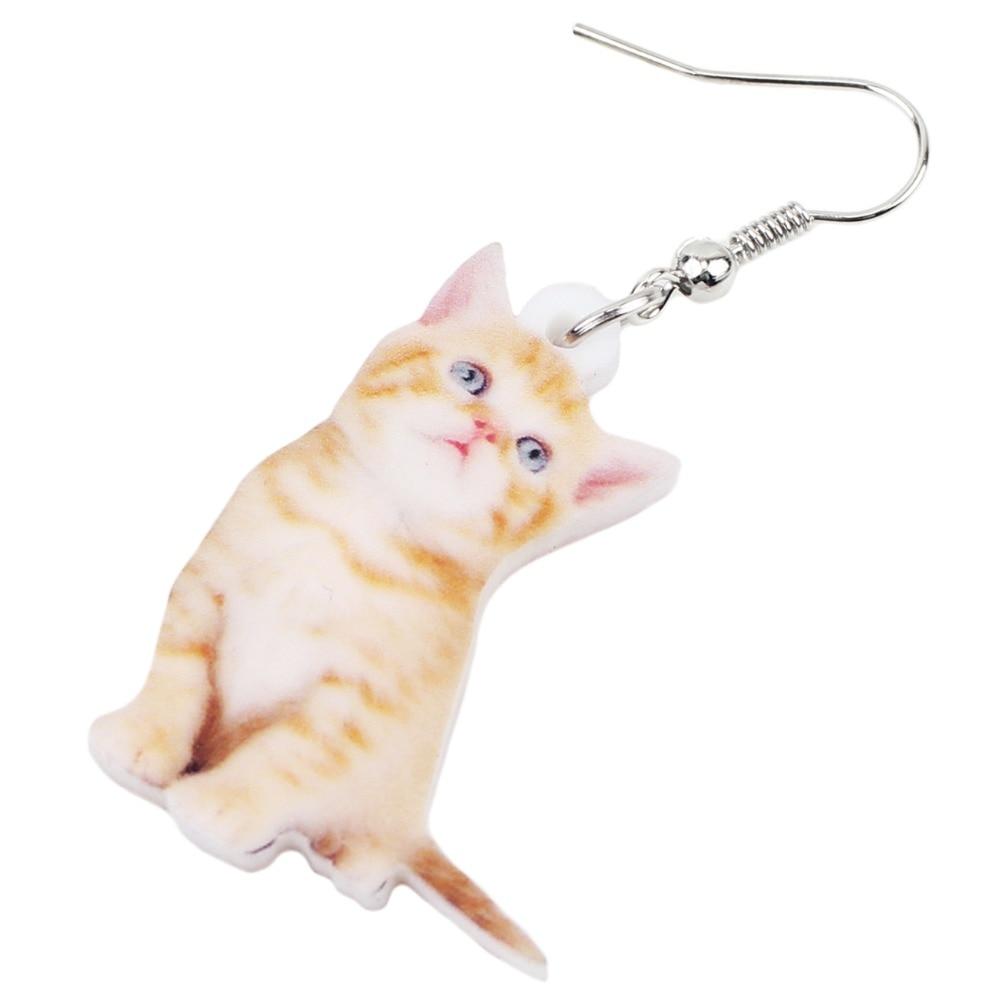 Kitten Earrings 2