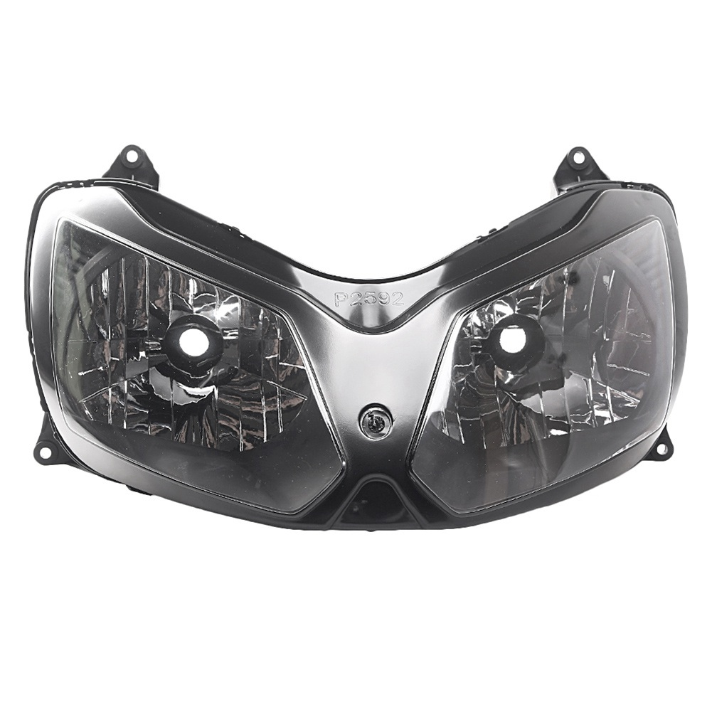 Front Headlight Headlight for Kawasaki Ninjia ZX12R 2002 2003 2004 2005 2006 2007 2008, Motorcycle Head Light Lamp Assembly