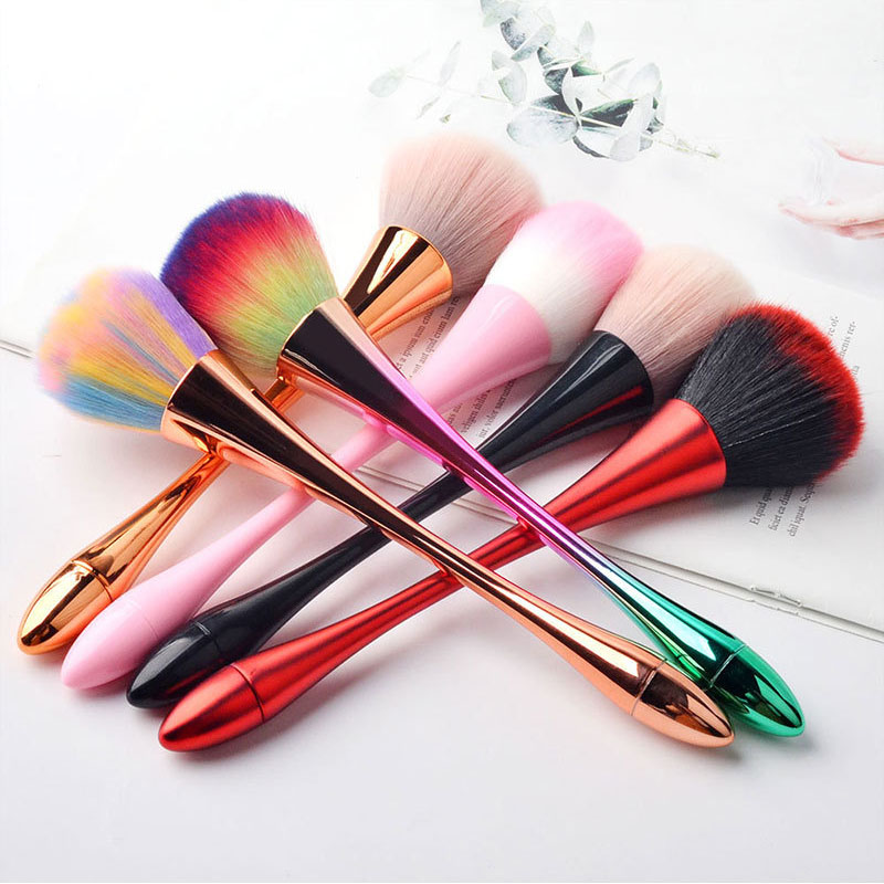 New Product Nail Brush Cleaning Remove Dust Powder Nail Art Manicure Pedicure Soft Dust Acrylic Clean Brush For Nail Care