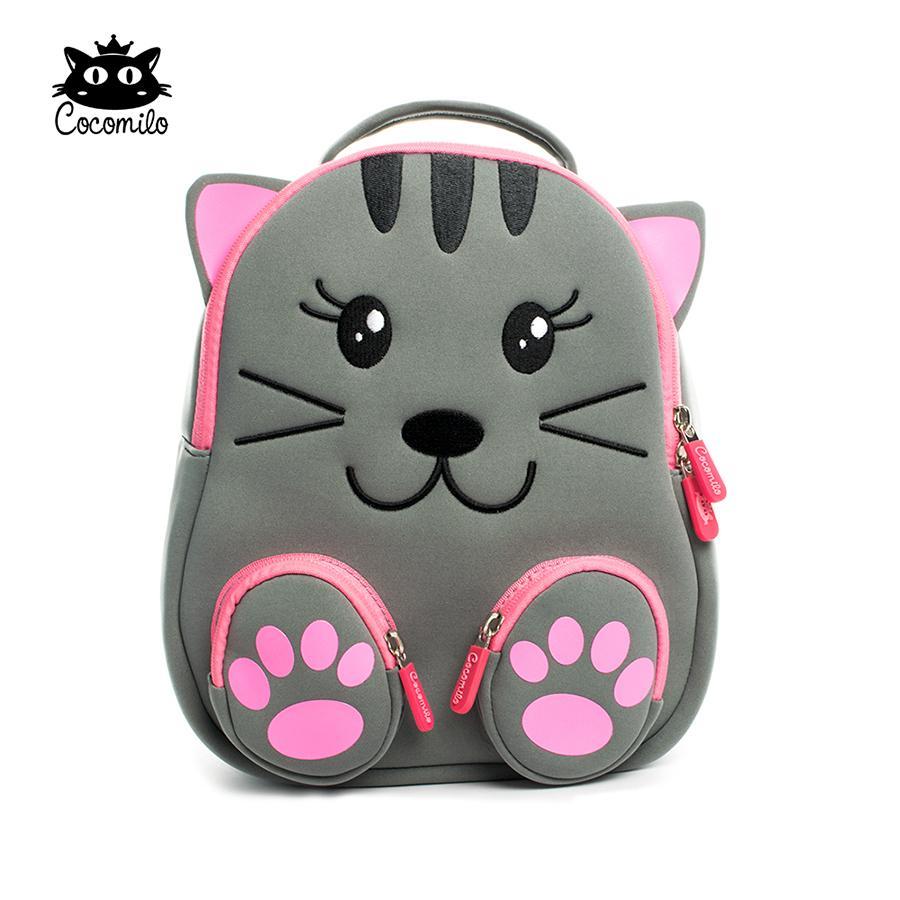 Cocomilo Kindergarten 2-5 Years Kids Cartoon Animal Schoolbag Backpacks Child Gift Girls Fashion Waterproof School Bags For Boys