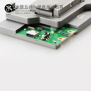 Image 4 - 5 em 1 hdd placa lógica reparação ferramenta de disco rígido dispositivo elétrico testador para iphone 5g 5S 5c 6g 6 p nand chip memória flash ic placa mãe