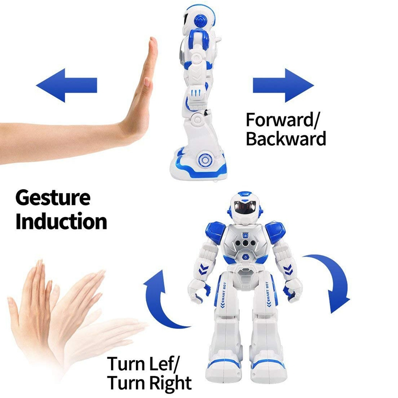 Remote Control Robot For Kids Intelligent Programmable Robot With Infrared Controller Toys,Dancing,S