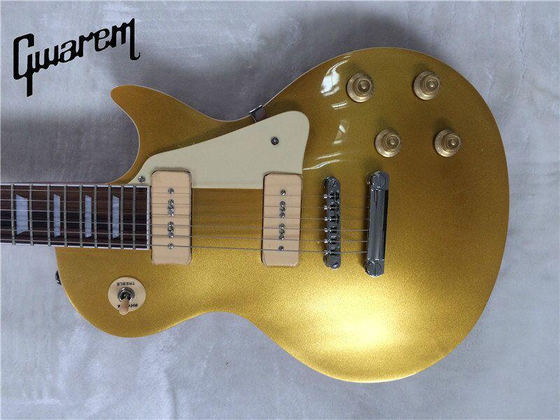 Electric guitar 2014 Guitarra Wholesale New Gib Standard/slash/oem Lp Guitar with p90 pi ...