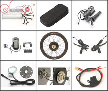 "EU Free Tax 36/48V 1500W Ebike Hub Motor Conversion Kits 26"" 27.5"" 28"" Controller LCD for e-Bicycle CONHISMOTOR Free Shipping"