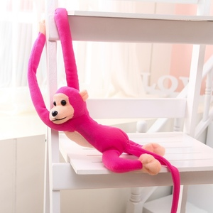 Image 5 - 1 pcs 70CM Hanging Long Arm Monkey from arm to tail Plush Baby Toys colorful Doll Kids Gift