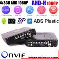 4 Canais 8 Canais DVR AHD AHDH 1080 P de Segurança CCTV DVR 4CH Mini-8ch Híbrido DVR HDMI Suporte IP/Analógico/AHD Camera 3G Wifi
