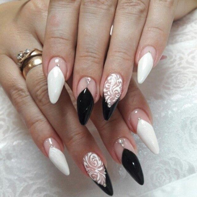3Pcs/set Nail Art Line Brush Glitters Acrylic Ultra-thin Liner Drawing Painting Pen Flower Stripes Nail Art Manicure Tools MJS86 4
