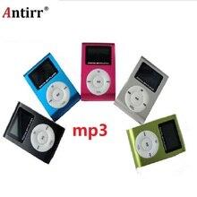 Überlegene Mini USB Metall Clip MP3 Player LCD Screen Unterstützung 32GB Micro SD TF Karte Slot Digital mp3 musik player