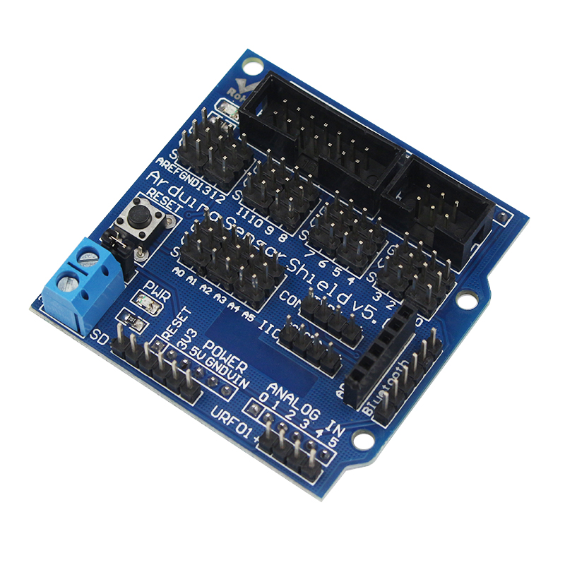Sensor Shield V5.0 Sensor Expansion Board For  Electronic Building Blocks Of Robot Parts
