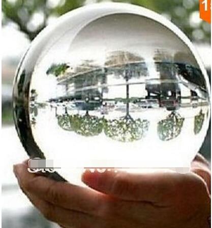ASIATIQUE Effacer Crystal Ball Sphère 100mm Quartz naturel Boule de pierre + base