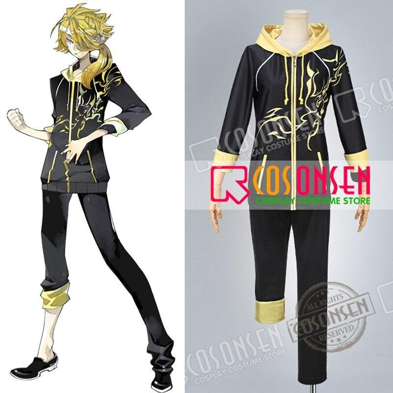 COSPLAYONSEN Webgame Touken Ranbu Shishiou Casual Clothing Cosplay Costume Any Size