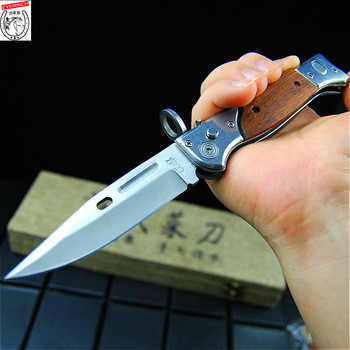 POCKET KNIFE ASSISTED OPEN KNIVES Out The Blade Tactical Folding knifes Survival Rescue EDC Outdoor Camping hunt Tool Drop Ship