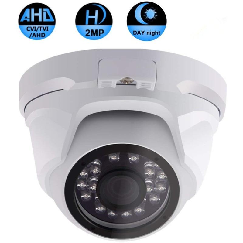 Roboter Unterhaltungselektronik Streng Sicherheit Cctv 1080 P Ahd Kamera Im Freien Wasserdichte Kugel Kameras Tag & Nacht Analog High Definition Überwachung Hd 3,6mm Objektiv