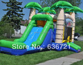 Inflatable Biggors Commercial Bounce House Combo Slide Jumping Bouncer