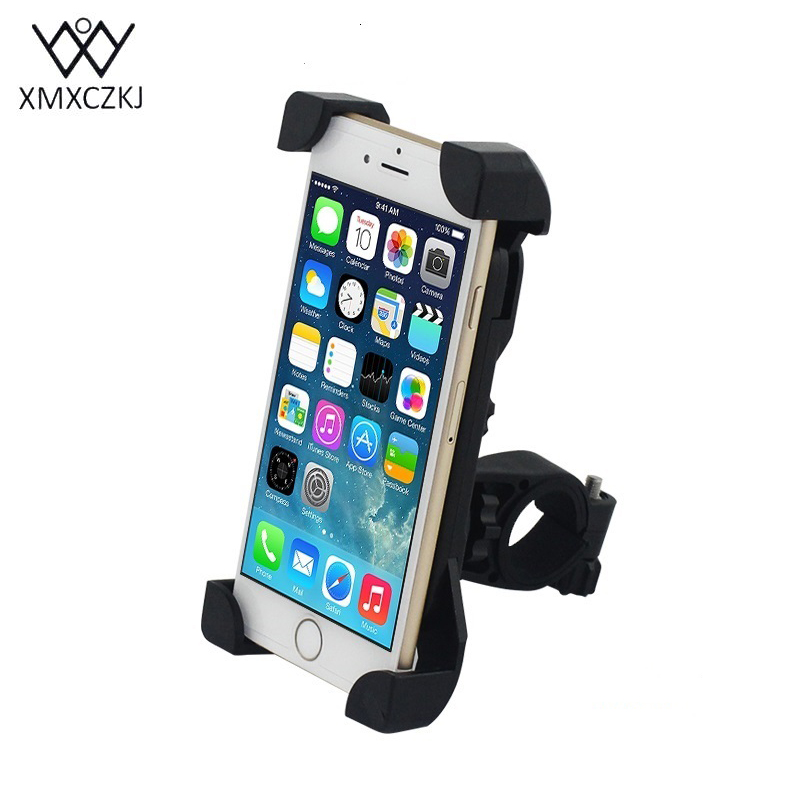 Bicycle Rack Universal 360 Rotating Bicycle Phone Holder Motorcycle Handlebar Clip Stand Mount Smart Mobile Cellphone Bracket
