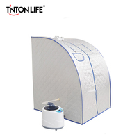 Sauna de vapor  Sala inteligente  Control remoto inalámbrico  beneficiosa pérdida de peso por infrarrojos  calorías  SPA de baño con bolsa de Sauna