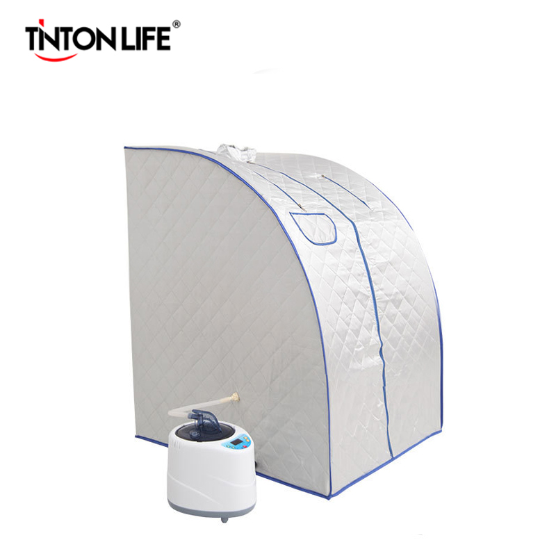 Steam Sauna Room Intelligent Wireless Remote Control Beneficial Skin Infrared Weight Loss Calories Bath SPA With Sauna Bag
