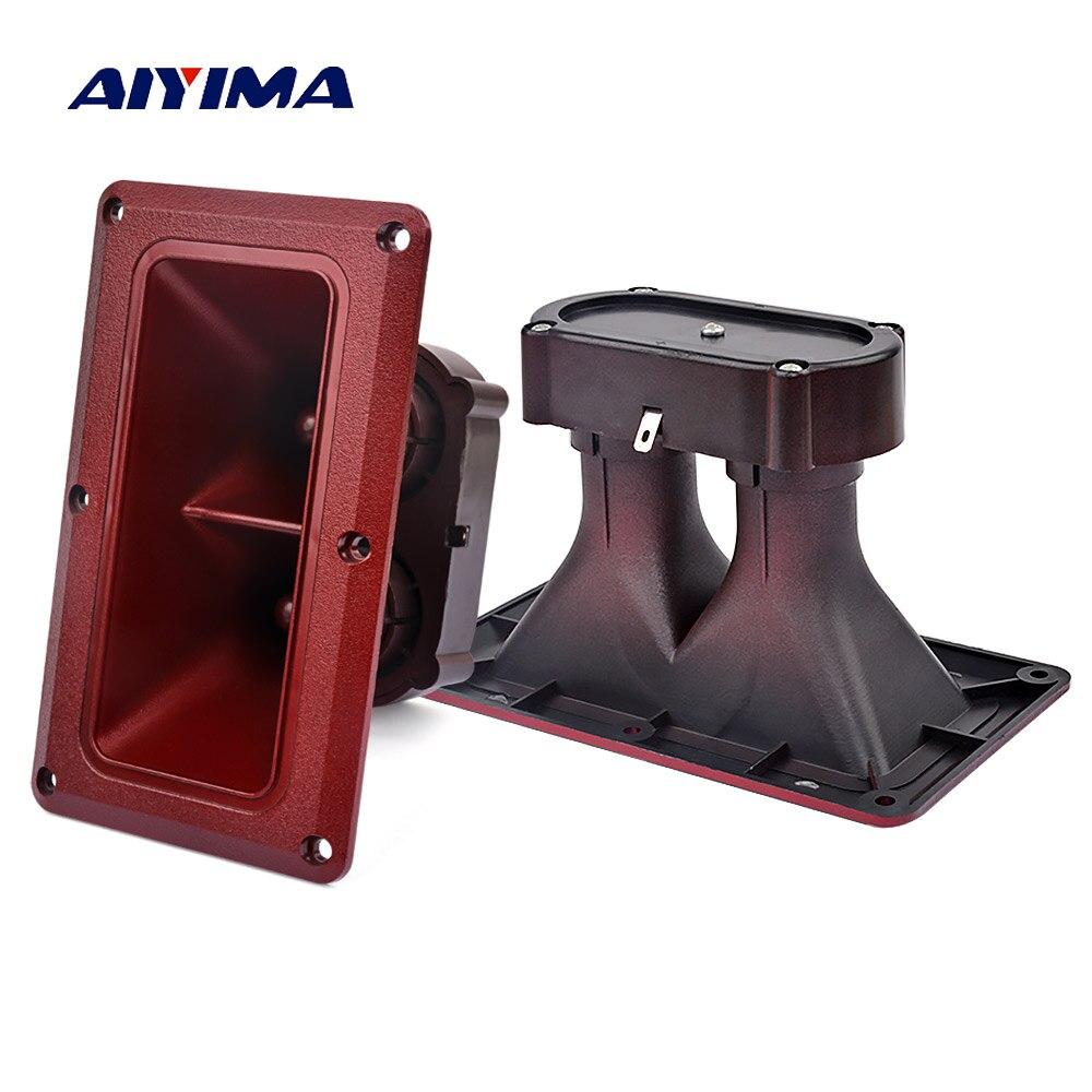 Aiyima 2 Unid piezoeléctricos doble 163*95mm bocina piezoeléctrica 150 W zumbador piezoeléctrico piezocontrolador de cabeza altavoz de escenario