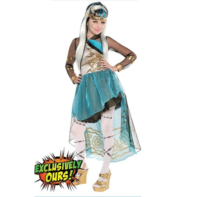 Halloween Costume Festival Girls Exotic WeeK Four Sress Performance Costume Princess Dress in Outer Space