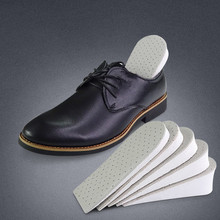 1Pair Unisex Leather Increase Height Shoes Half Insoles New Unisex Shoes Invisible Insole Inserts Pad Shoes Accessories