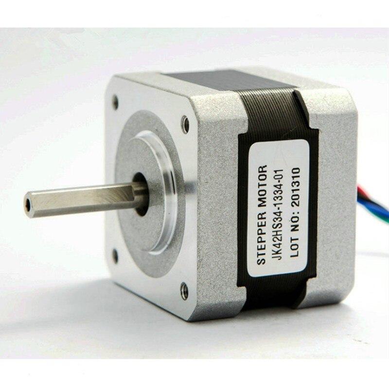 цена на 1.8 degree Nema 17 stepper motor 34mm 1.33A 2.6kg.cm 0.26Nm 42HS34-1334-01 37Oz-in Nema17 stappenmotor 4-lead for 3D printer