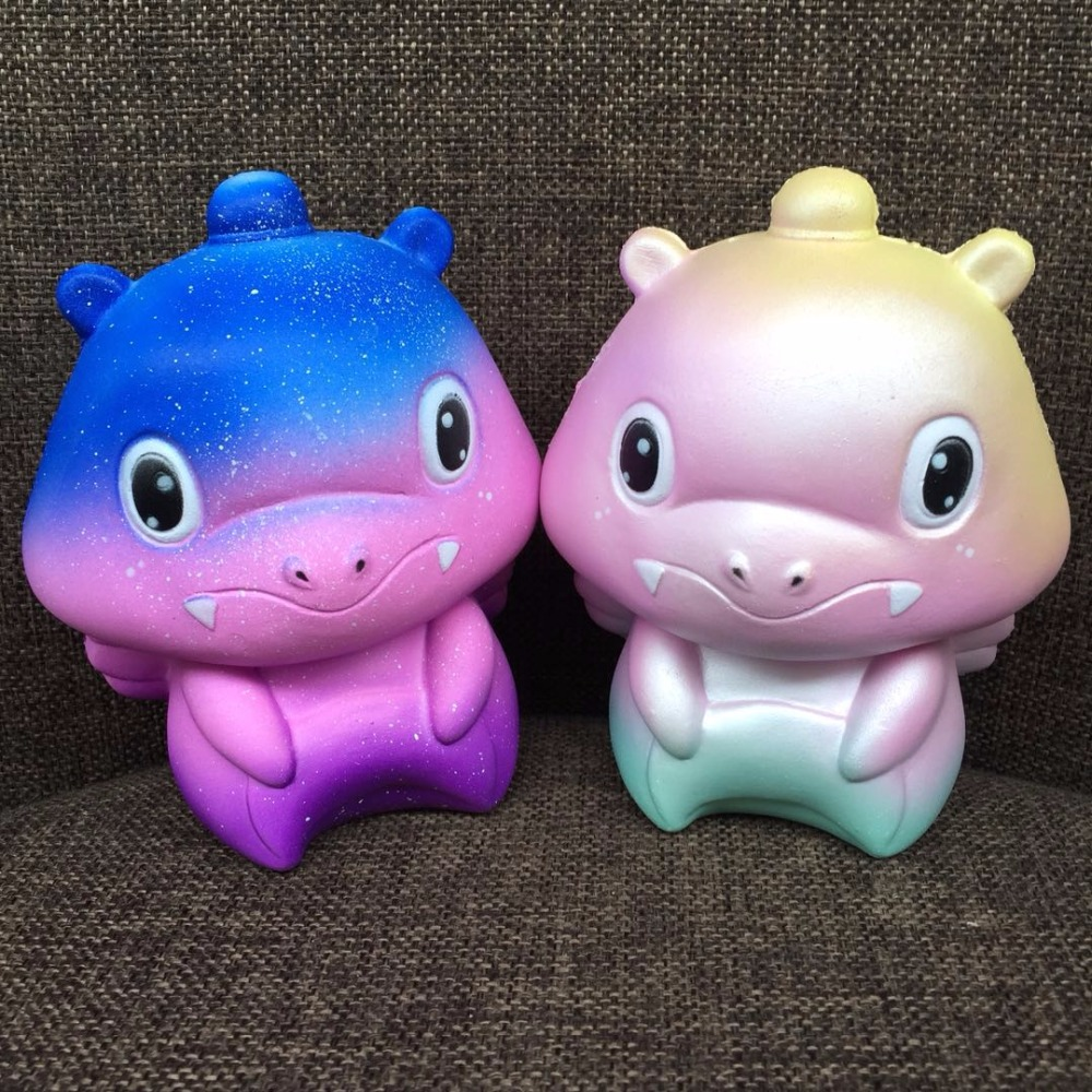 Slow Rising Squishies Toys Scented Squeeze Cute Dinosaur Stress Relief Toy Gift For Kids&Adults Squeezing for kids children Fun
