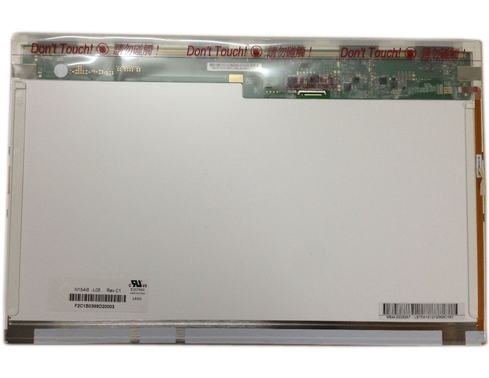N154I6-L05 fit LTN154AT11 L01 B154EW09 V0 V1 LCD laptop LED Screen 154 inch 1280X800 40PIN