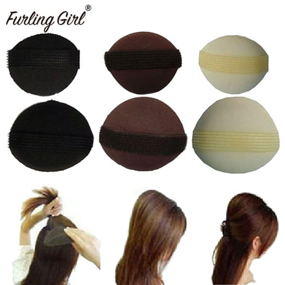 Furling Girl 1 Pair/Lot Hot Sales Sponge Hair Maker Styling Hair Base Bump Styling Insert Tool Volume Hair Accessories