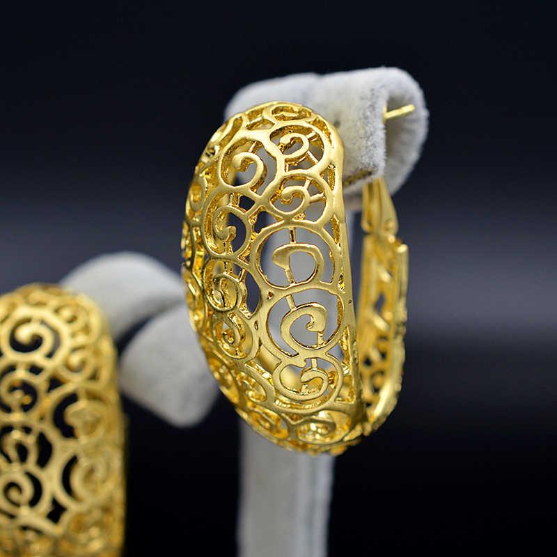 Ensoleillé bijoux à la mode nouveaux arrivants grandes boucles d'oreilles pendentif collier ensembles de bijoux pour les femmes en alliage oeuf plante fleur pour fête de mariage