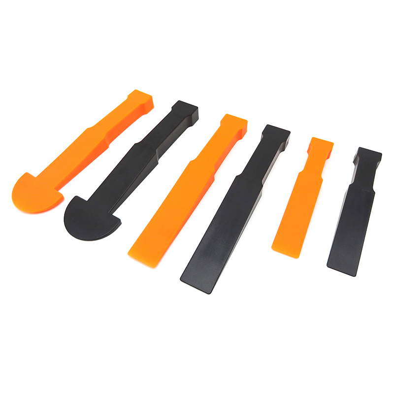 6PCS Car Dash Removal Tools Automobile Nail Puller Radio Audio Panel Door Clip Car Repairing Tools