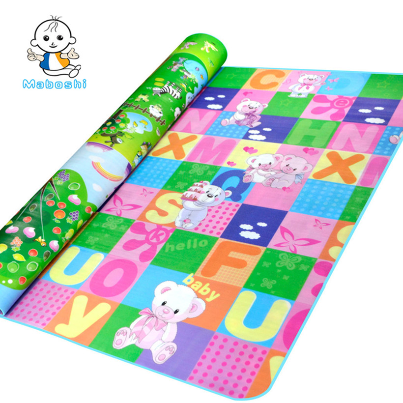 Maboshi-Waterproof-Double-Sides-218-M-Children-Play-Mat-Giraffe-And-Bear-Baby-Crawling-Mat-Soft-Kids-Picnic-Carpet-Rug-CJL0012-1