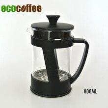 Freies Verschiffen 800 ml Kaffee französisch Presse Kaffee Tee Kolben