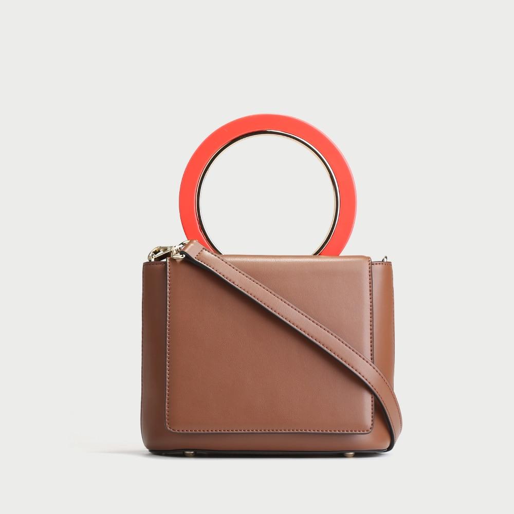 7acf3df777 chocolate Luxe Sacs Cuir brown Mode Mujer Des Sac Black green Bandoulière  Simple Femmes D'épaule En 2018 Petit Bolsos Main ...