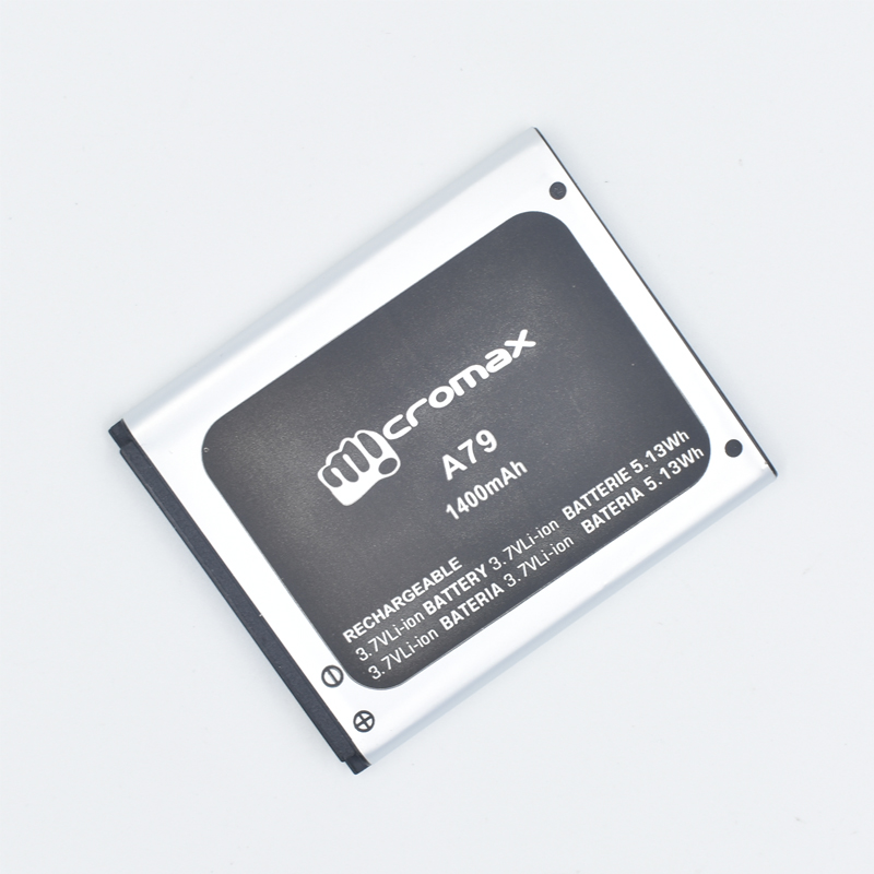 Hekiy For A79 <font><b>MICROMAX</b></font> A79 Mobile Phone Battery <font><b>MICROMAX</b></font> A79 <font><b>1400MAH</b></font> Mobile Phone Li-ion Battery Replacement image