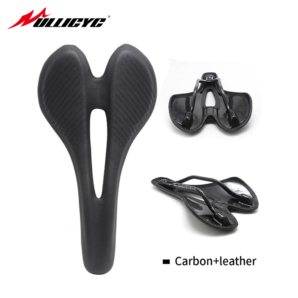 MTB road bike Comfort MTB Wide Bicycle Seat Carbon Fiber Bike Saddle Bicycle Saddle Bike Seat Cycling Saddle Seat Cushion ZD900 rubar full carbon fiber bicycle saddle road mtb bike bike saddle bicycle seat hollow design cycling parts bike accessories